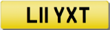 LILY T Private Registration Cherished Number Plate LILI LILLY LILLIE LILLIAN